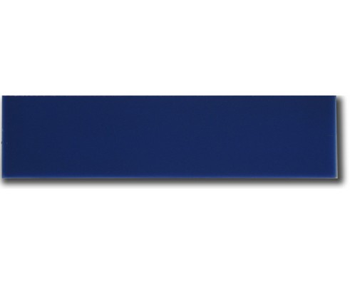 Azulejo color liso azul 7x28 cm.