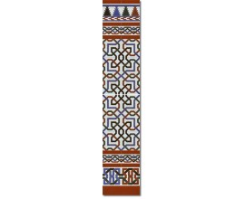 Arabian wall tiles ref. 510M Height 58.27 In.