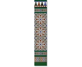 Arabian wall tiles ref. 530V Height 58.27 In.