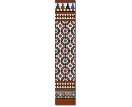 Arabian wall tiles ref. 570M Height 58.27 In.