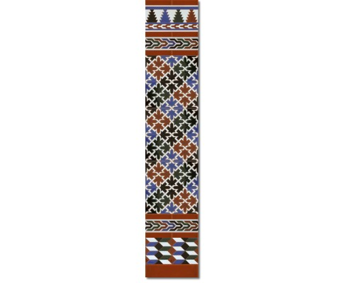 Arabian wall tiles ref. 580M Height 58.27 In.