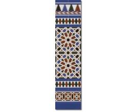 Zócalo Árabe mod.540A - Altura 120cm.