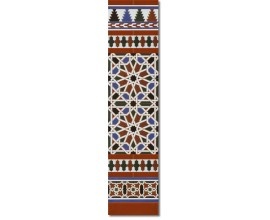 Arabian wall tiles ref. 540M Height 47.24 In.