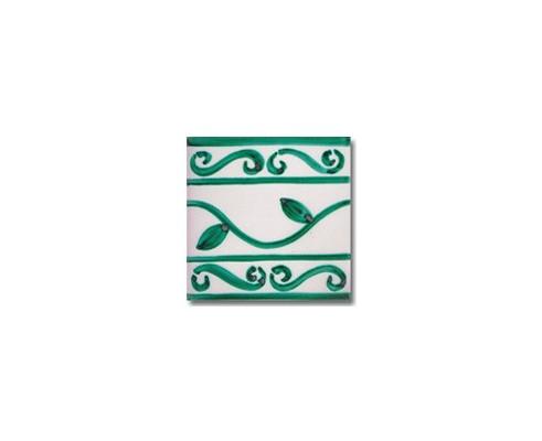 Azulejo pincelado cenefa SV2042