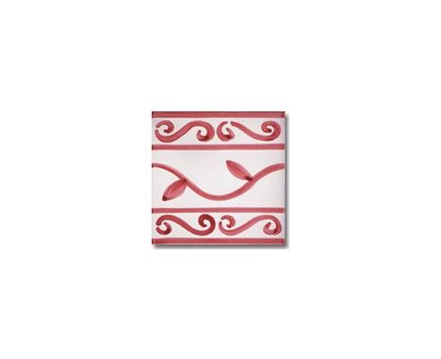 Azulejo pincelado cenefa SV2045