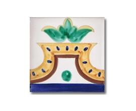 Azulejo pincelado cenefa SV2121