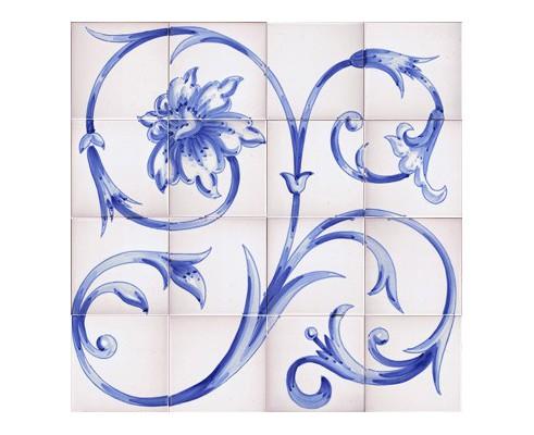 Mural de azulejos modelo SV9023