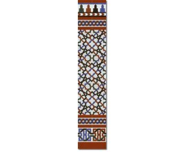 Zócalo Árabe mod.520M - Altura 148cm.