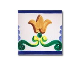 Azulejo pincelado cenefa SV2091